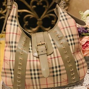 Authentic Burberry Prorsum Shoulder Handbag. MINT!